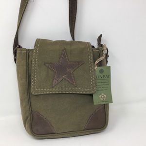 Clea Ray Canvas Star Crossbody
